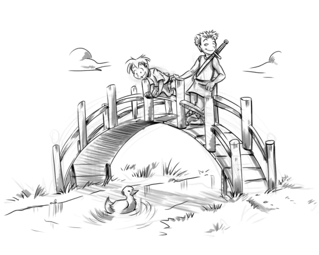 Ethan and Zeke by Jenny Stead