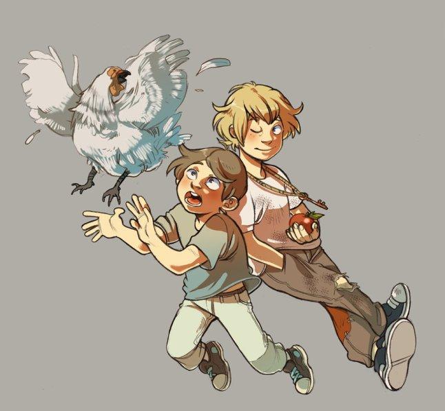 Zeke and Jude by Ilaria Catalani