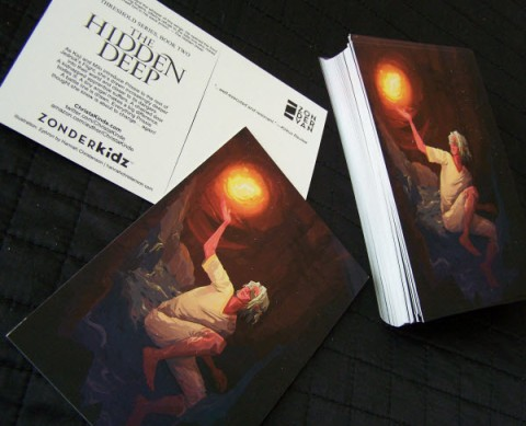 The Hidden Deep Postcards