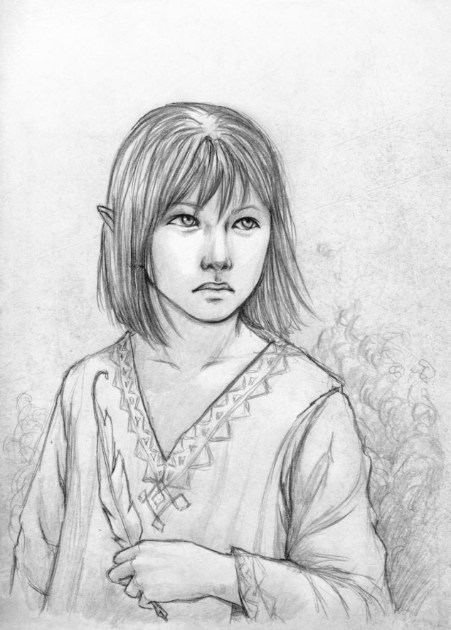 Koji Portrait by Serena Verde