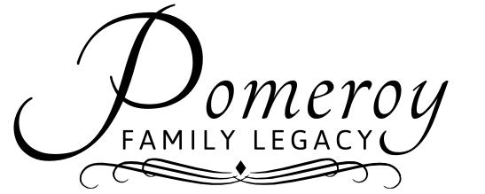 Pomeroy Family Legacy, bw