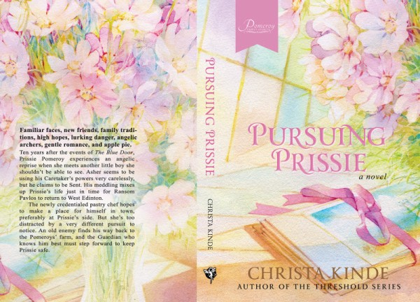 Pursuing Prissie, print cover