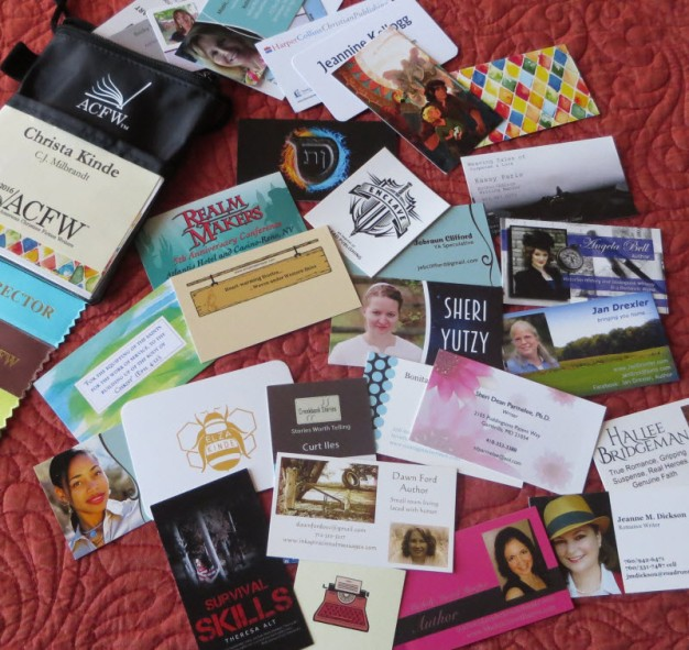 ACFW2016 Business Card Collection